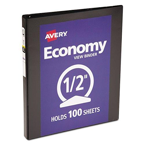 Avery Economy Reference Binder Capacity