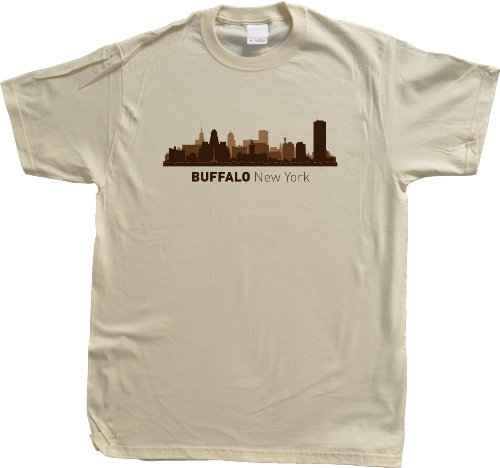 Buffalo, NY City Skyline Unisex T-shirt New York Hometown Pride Tee