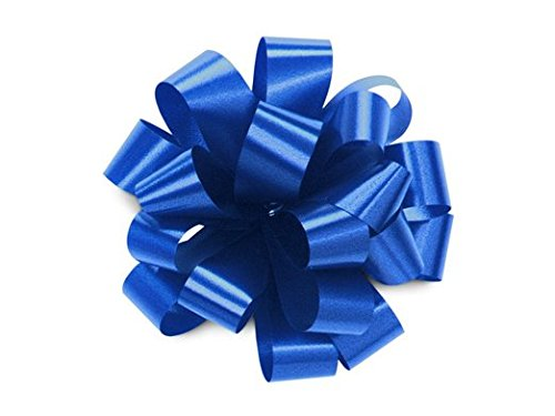 Bows, ROYAL BLUE Gift Pull Bows, Christmas, Wrapping, Set of 10 5