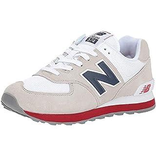 New Balance Men's 574 V2 Core Sneaker, Nimbus Cloud/Navy, 17 W US