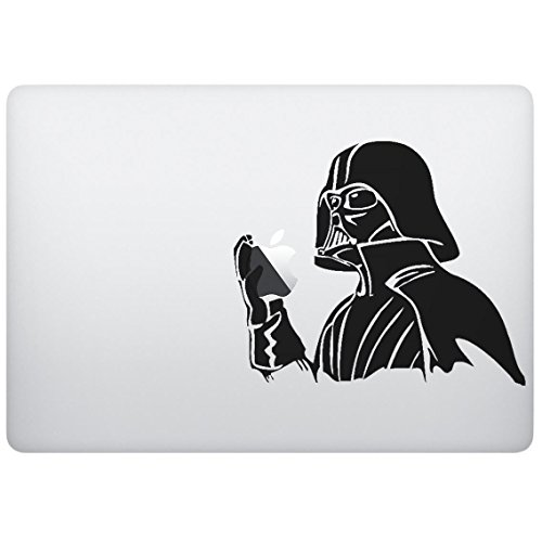 Sticker Decal with Dark Hero Design, Computer Sticker, Laptop Sticker, MacBook Sticker, Ipad Sticker, Computer Decal, Laptop Decal, Ipad Decal. Cool Accessories for Laptop, MacBook, Ipad.