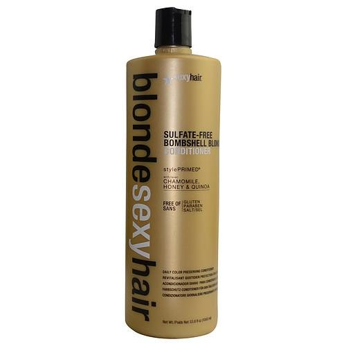 Bombshell Blonde Hair (Blonde Sexy Hair Sulfate-Free Bombshell Blonde Conditioner 33.8 oz by Sexy Hair)