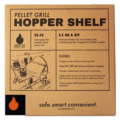 DRIP EZ HS-10 Pellet Hopper Shelf - Quantity 1