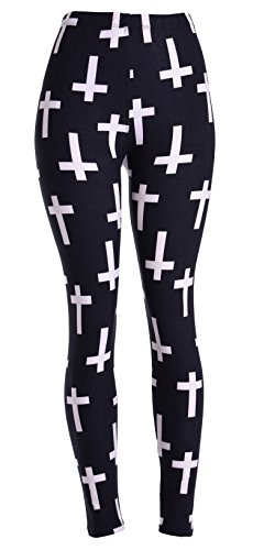 VIV Collection Women's Stripe Leggings