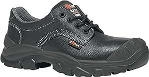 Zapatillas de seguridad (Puntera S3Src Lynx UK Talla 47piel lisa negro plástico tapa