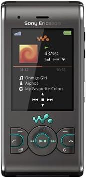Sony Ericsson W595 - Teléfono Móvil Libre - Gris
