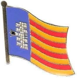 Banderas Pin Bandera España – Mallorca Pins Anstecknadel: Amazon ...
