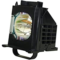 Aurabeam Replacement Lamp for Mitsubishi WD-73C9 TV with Housing