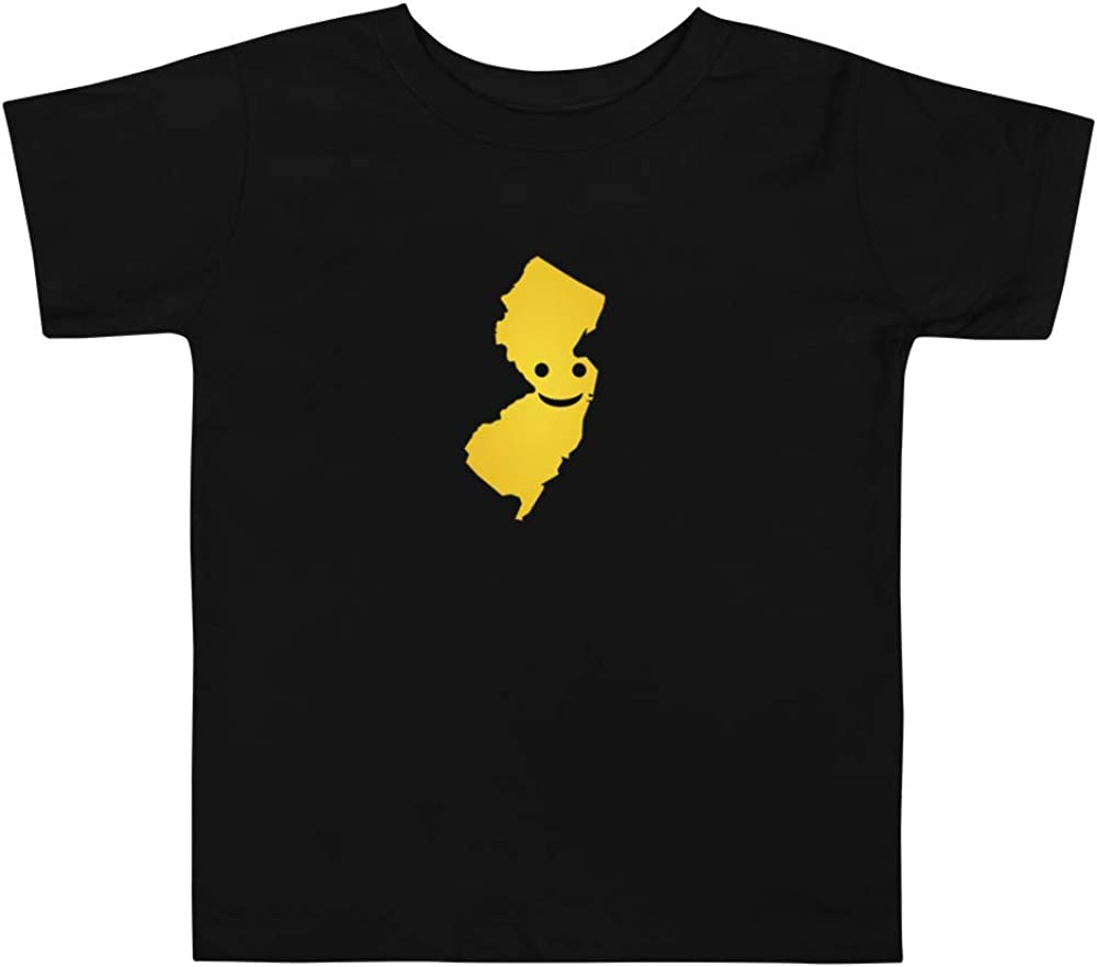 New Jersey Emoji Toddler Short Sleeve Tee T-Shirt