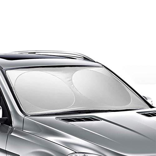 Ohuhu Auto Car Sun Shade Windshield Cover Visor Protector Sunshades Awning Shade 63 X 33.86 inches