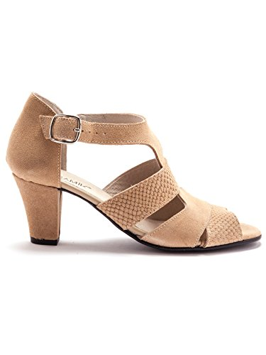 Balsamik - Sandalen - Damen - Size : 0 - Colour : Beige medium dicht