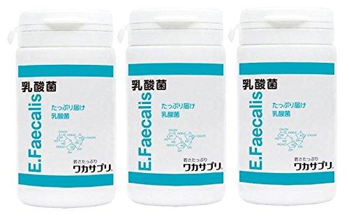 ワカサプリ 乳酸菌 90粒 × 3個 B01484URE2