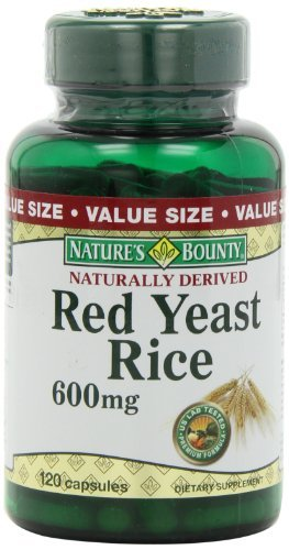 Natures Bounty Yeast 600mg Capsules