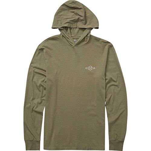 Billabong Men's Diamond Long Sleeve T-Shirt Military X-Large