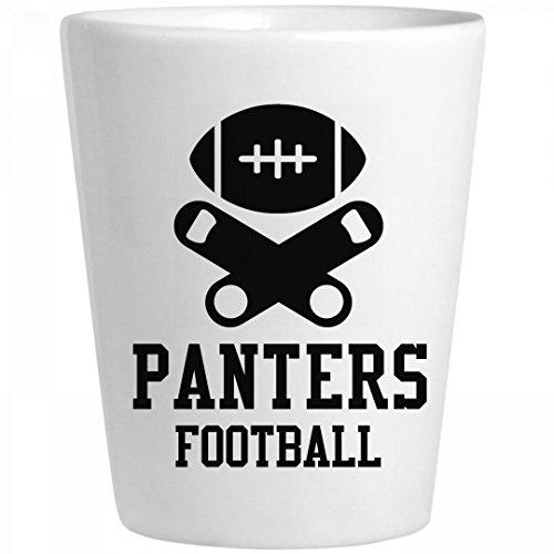 Panters Football Fan: Ceramic Shot (Panters Nfl)