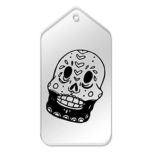 Mm trasparenti 'Skull tg00059948 X 99 51 Skull' Large 10 Etichette Bearded Azeeda qzAF1U