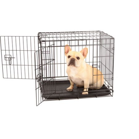 Carlson Compact and Secure Double Door Metal Dog Crate, SMALL Carlson Pet Products