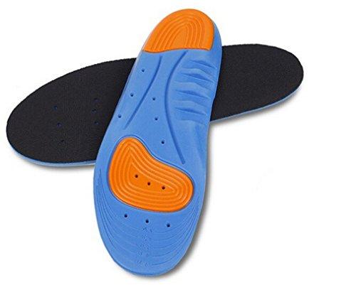 a Choc Semelles Sueur en de ciseaux gel coussin Anti avec sport aux 1 désodorisant s'adapter pour les Unisex Wiftly toutes Coussinet orthopédiques creux chaussures soutien Respirant et paire xvPcqg
