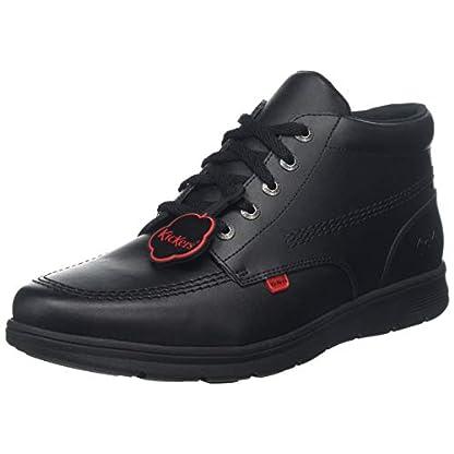 Kickers Unisex's Kelland Lace Leather Shoes 1