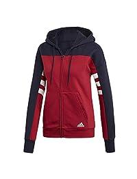 Adidas Womens Standard Id Full Zip Hoodie