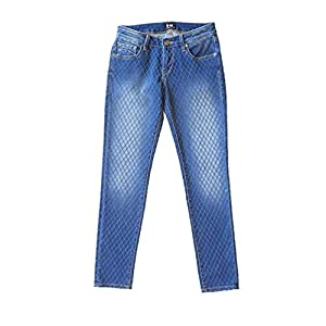 D-ID Denim Women's Florence Denim Island Ankle Skinny Jean, West L.A (27)