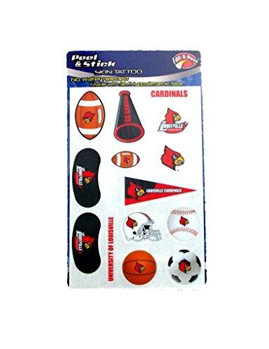 NCAA Louisville Cardinals Football Basketball Baseball Set of