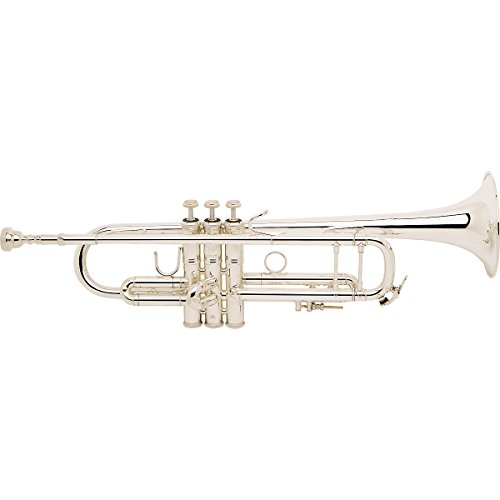 Bach LT180 Stradivarius Trumpet (Silver Plated/72 Bell) by Bach
