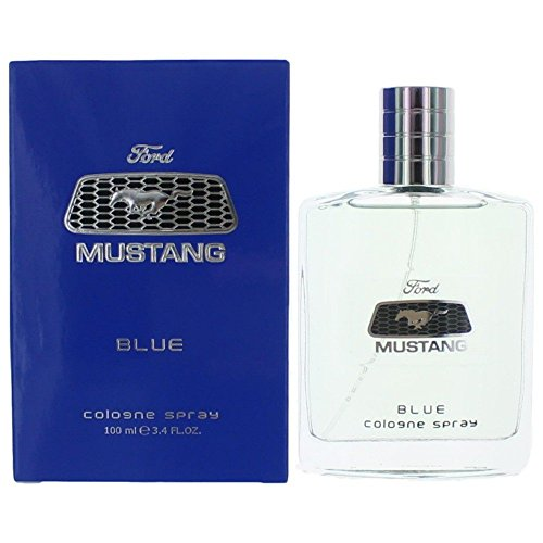 Mustang Cologne Blue - Mustang Blue by Estee Lauder Cologne Spray for Men, 3.40-Ounce