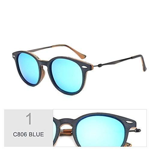 Uv400 Oval Silver Sol Guía En De De Unisex De Anteojos Hombres Madera Retro Similar Mujeres Sol Gafas Para C806 BLUE Polarizadas TIANLIANG04 C96 Gafas aqAOwY1WF