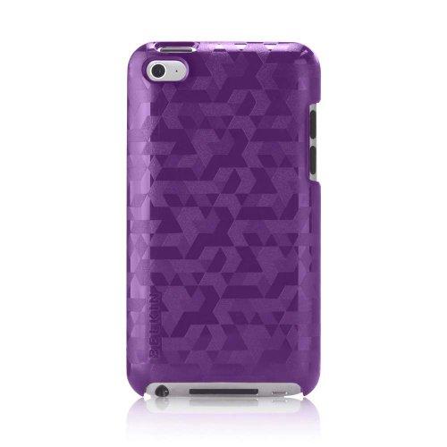 Belkin Emerge 012 Metal Case for Apple iPod Touch 4th Generation (Purple Lightning)