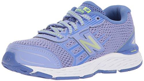 New Balance Girls' 680v5 Running Shoe, Ice Violet/Twilight,