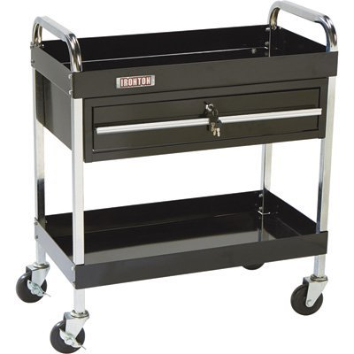 Ironton 1-Drawer Tool Cart - 350-Lb. Capacity (Toolbox One Drawer)