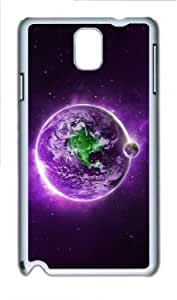 Samsung Galaxy Note 3 N9000 Case,Samsung Galaxy Note 3 N9000 Cases - Purple Violet Landscape 45 PC Custom Samsung...