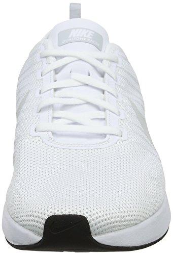 Nike Heren Dualtone Racer Toevallige Schoen Wit / Zuiver Platnum-wit-zwart