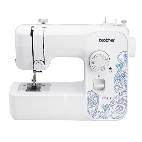 Brother Sewing RLX3817 Refurbished, Full Size Sewing Machine, White