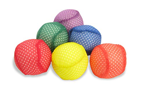 3 Inch Mesh Ball - American Educational Products Mesh Covered Foam Balls, 3