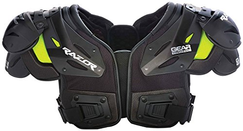 Gear Pro-Tec Razor RZ7 Adult Football Shoulder Pad - Skill - Scuffed (Football Skill Pads Shoulder)