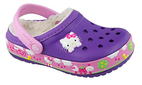 2e8d8fdd6 crocs 14632 CB Hello Kitty FR LD Clog (Toddler/Little Kid),Neon Purple,6 M  US Toddler - Buy Online in Oman. | Shoes Products in Oman - See Prices, ...