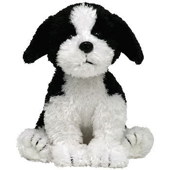 Amazon Com Ty Beanie Baby Riggins The Dog Bbom September 2007