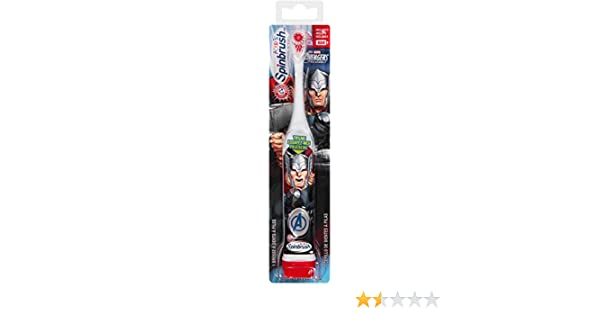 Spinbrush Avengers super hero may vary