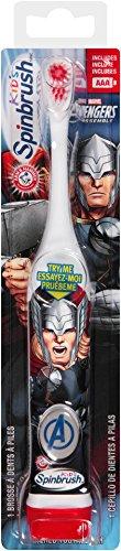 Spinbrush Avengers super hero may vary