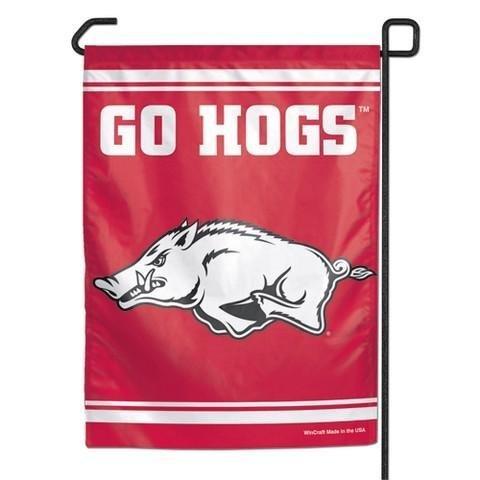 Wincraft NCAA Arkansas Razorbacks Garden Flag, 12.5