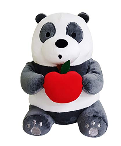 (C&H We Bare Bears with Fruit Panda PanPan Sitting Plush Doll 10