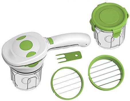 Lanbowo Gemüse Schneider Früchte Schneiden, 5 in 1 Multifunktion Gemüseschneider Schneidemaschine für Küche Kochen Dinner Party