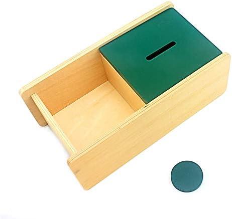 AVT Caja de Madera para niños Montessori Toys Imbucare con Caja de ...