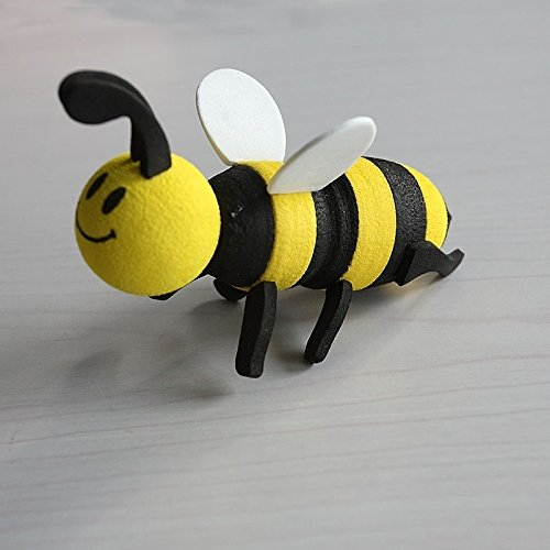 HeyBro D/écorations pour antenne de Voiture Dessin anim/é Smiley Miel Bumblebee Boule dantenne antenne D/écoration Asiatique Kungfu Shop