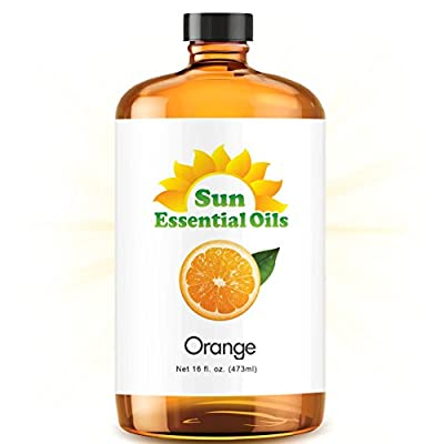 Orange 100% Pure, Best Therapeutic Grade Essential Oil