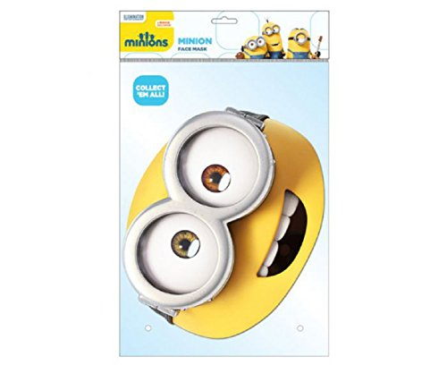 Despicable Me Characters Costumes (Bob Minion Card Character Mask)