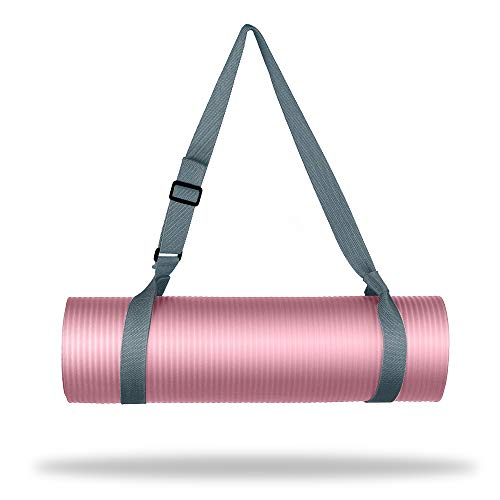 WEHE Yoga Strap Mat Strap Sling with Adjustable Buckle, Carrying Strap in Standard Extra Long 86