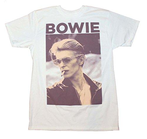 David Bowie - Smokin' - Adult T-Shirt - Medium